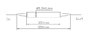 1060nmインライン型ポラライザ