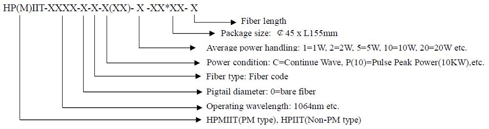 2-20W In-line Isolator,HP(M)IIT