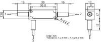 3-Port Polarization Insensitive Optical Circulator-2000nm