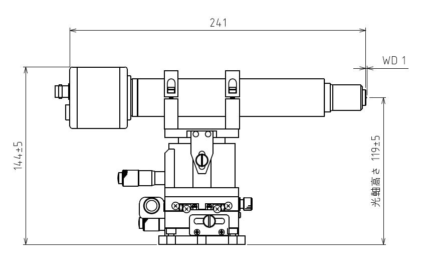 15DUV微小ビーム測定光学系