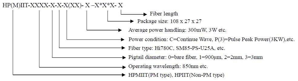 850nm High Power In-line Isolator