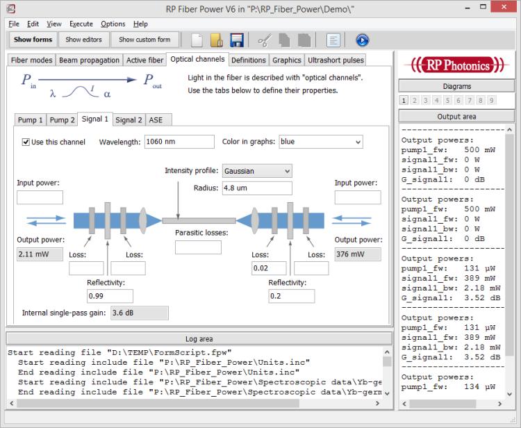 ファイバーレーザーシミュレーションソフト