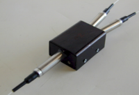 Fiber Polarization Beam Splitter