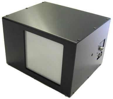 LaseView-LHB-100の外観図(受光部及び端子部)