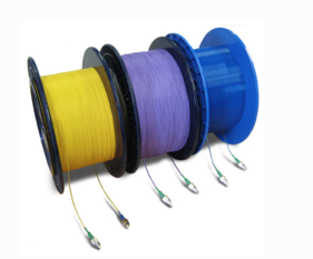 Optical Fibre Delay Line and Fibre Spools-1