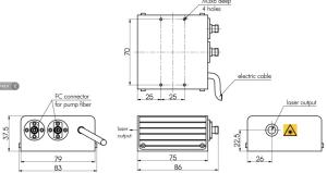 STA-MOPA - マスターオシレータ光増幅レーザーシステム